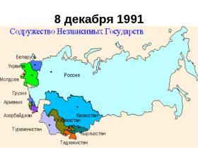 俄语学习 独联体国家俄语名称