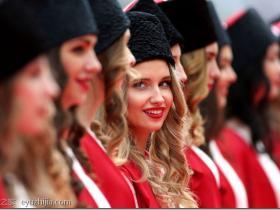 让人惊艳的俄罗斯美女 带你看索契F1大赛的俄妹子
