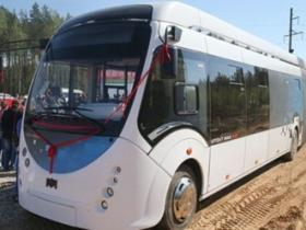 中国和白俄罗斯合作生产快充公交车