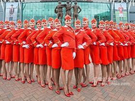 有关俄罗斯航空(AEROFLOT)漂亮空姐和精彩段子