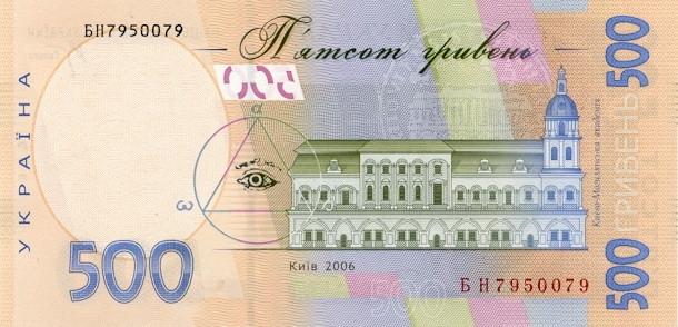 认识乌克兰钱币格里夫纳