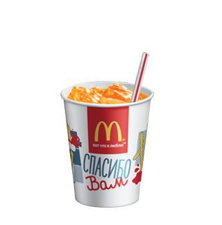 麦当劳俄语菜单《饮料和各种酱》助你在俄麦当劳淡定点餐