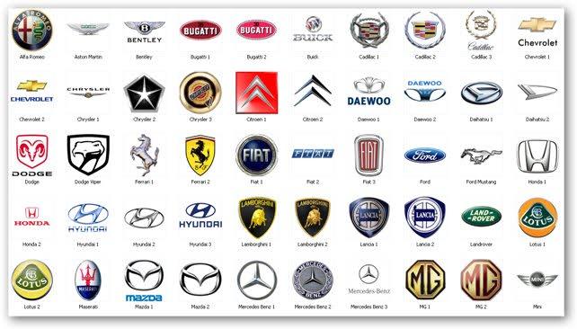 俄语学习 汽车品牌大全相对应的俄语