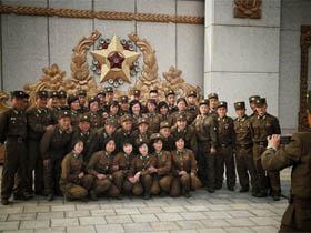 俄罗斯网络上流传的有关朝鲜图片