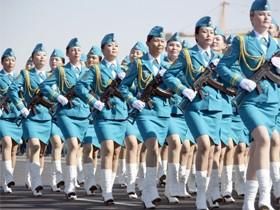 哈萨克斯坦2014年5月7日的阅兵实况