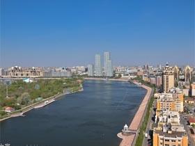 中亚最现代化的城市 哈萨克斯坦首都阿斯塔纳
