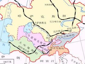 中亚五国指的是哪五个国家?