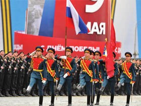 俄罗斯胜利日70周年阅兵仪式-全程高清视频记录