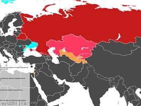 以俄语为官方语言的国家和地区