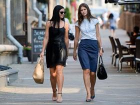 最新白俄罗斯街头美女实拍 时尚如模特(多图)