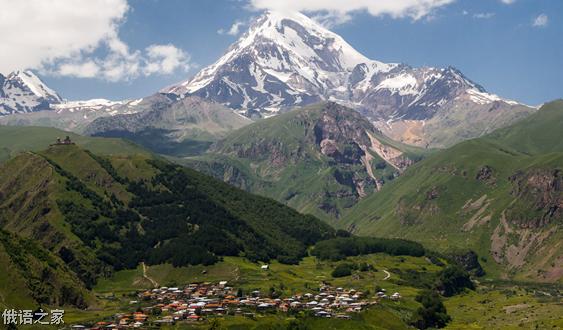 走进高加索国家 美丽的格鲁吉亚