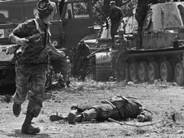 格鲁吉亚战争黑镜头