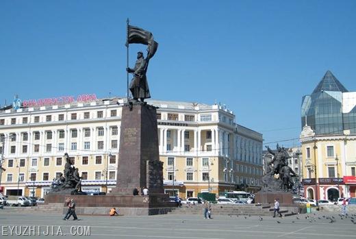 走遍俄罗斯 远东最大城市符拉迪沃斯托克 曾经的海参崴(19张)