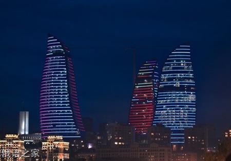 阿塞拜疆首都巴库 实拍风景欣赏