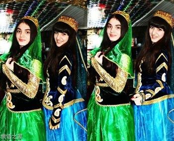 阿塞拜疆美女如此漂亮 完全超乎想象