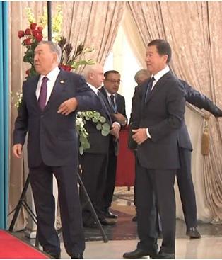 求心理阴影面积,哈萨克斯坦首富欲和总统合影遭推开