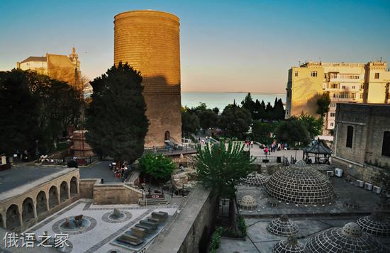 阿塞拜疆最繁华的地方 首都巴库新城