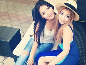 来自隔壁邻国 吉尔吉斯斯坦的美女