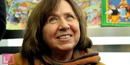 白俄罗斯女作家获得诺贝尔文学奖