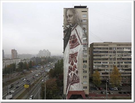 基辅的街道艺术