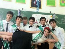 一组来自土库曼斯坦高中生毕业的照片(11张)