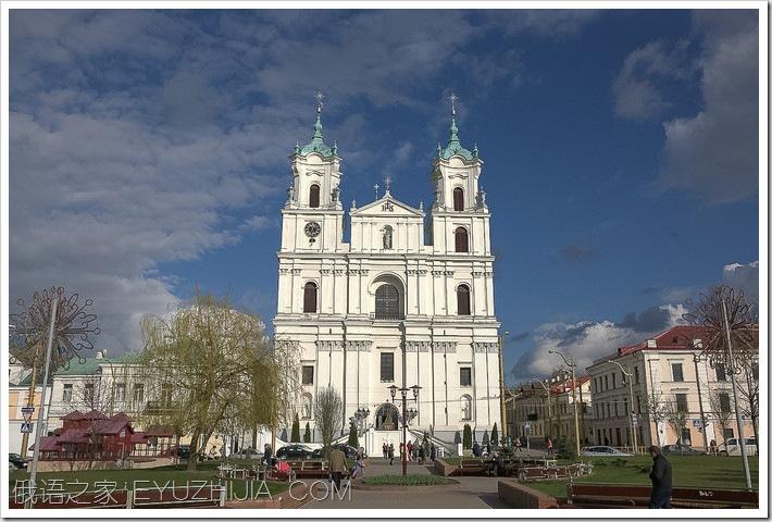 白俄罗斯小城市白俄罗斯风景