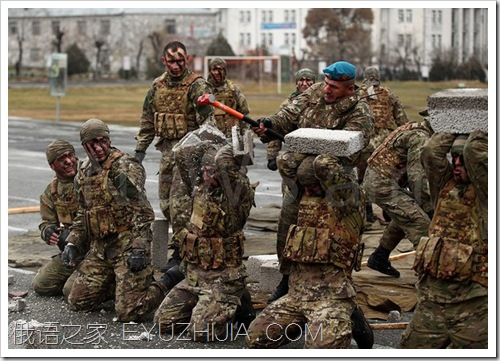 亚美尼亚特种部队01