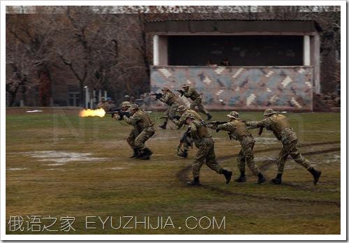 罕见的亚美尼亚特种部队照片(14张)
