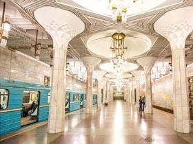 这可是中亚最早的地铁-塔什干地铁