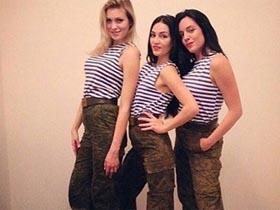 来自俄罗斯的美女制服诱惑 (多图)