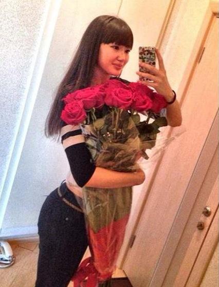 长腿美女 哈萨克斯坦女排20号 莎宾娜·艾媞博柯娃