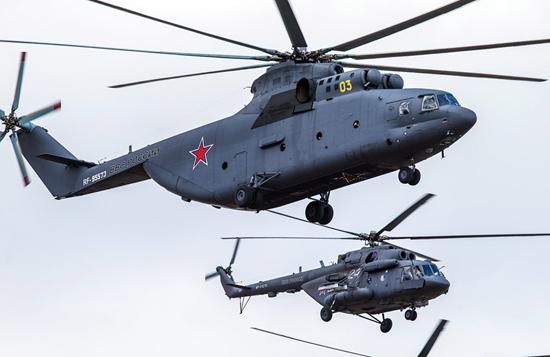 抢先看俄罗斯5.9胜利日阅兵式  莫斯科红场飞机表演
