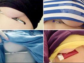 中国女孩网上秀胸照比拼 俄罗斯网友评论亮了