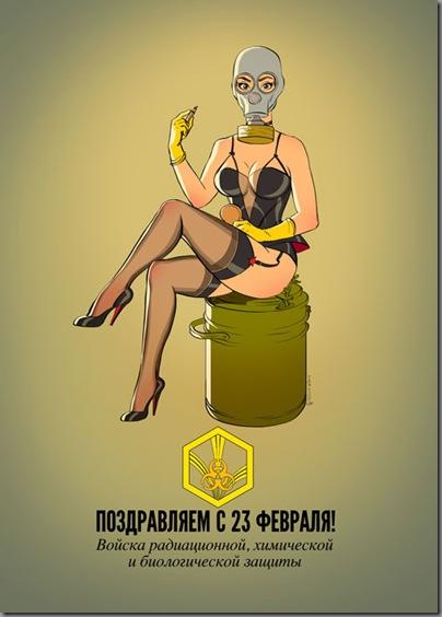 亮点!俄罗斯军队各军种宣传海报