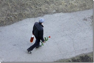 那些在情人节失意的俄罗斯汉子