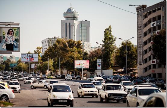 """中亚的""""大城市""""乌兹别克斯坦首都-塔什干"""
