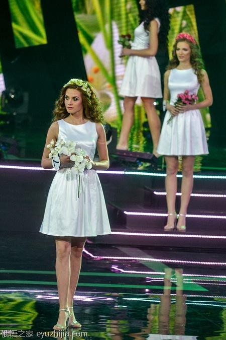 白俄罗斯选美大赛 有没有眼花缭乱的感觉?