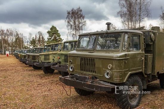 被遗忘的苏联遗产 白俄罗斯军车坟墓(多图)