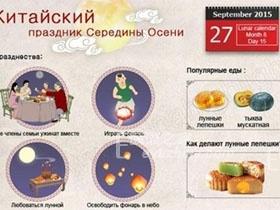 怎么样用俄语给俄罗斯人介绍中秋节?(短文+俄罗斯人朗读)