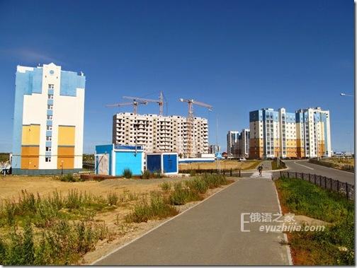 唯一北极圈城市的夏天 俄罗斯的萨列哈尔德市